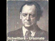 I don't iunderstand German but this is rad! #dada #KurtSchwitters - #Ursonate #dadaism