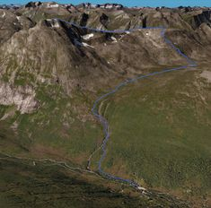 3D skisse av Blånebba 3d, Water, Outdoor, Gripe Water, Outdoors, Outdoor Games, The Great Outdoors