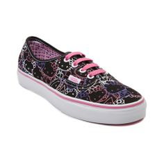 Shop for Vans Authentic Hello Kitty Skate Shoe in Black Pink at Shi by Journeys. Shop today for the hottest brands in womens shoes at Journeys.com.