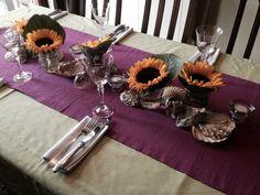 Zonnebloem helianthus tafel deco