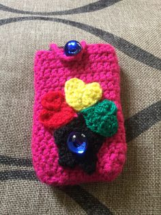 cellphone cover - gift to my helper in Ghana (hence the color of the Ghana flag)
