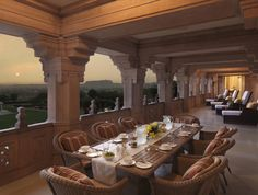 Perched high above the desert capital of Jodhpur, Umaid Bhawan Palace is the last of the great palaces of India and one of the largest private residences in the world – set amidst 26 acres of lush gardens. http://www.renshawtravel.com