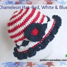 baby fourth of july sun hat