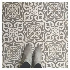 Our Devon stone floor tiles make a wonderful feature of any hallway or bathroom. Use the Devon stone base tile as a border to create a real focal point or across the whole floor for a real statement. This ceramic tile comes on a white biscuit and is perfect for all traditional homes, even if your looking for a mix of contemporary and classic.These tiles are suitable for use as kitchen floor tiles, bathroom floor tiles and hallway floor tiles.  Due back in stock w/c 20th June.