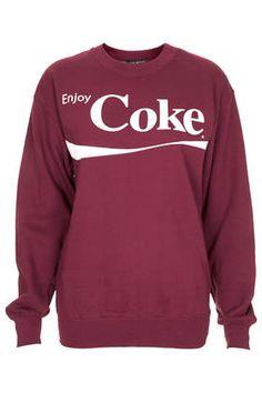 Petite Enjoy Coke Sweat - Petite Tops - Petite - Clothing
