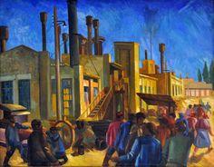 A. Volkov (1884-1957) - Rural Machinery Factory, 1930