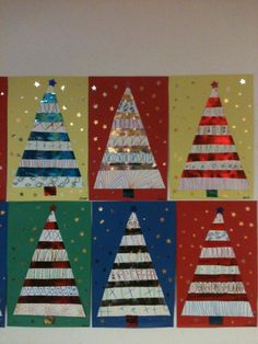 Christmas Art Projects, Christmas Decorations For Kids, Noel Christmas, Christmas Activities, Christmas Crafts For Kids, Christmas Themes, Art Activities For Kids, Preschool Art, Christmas Classroom Door