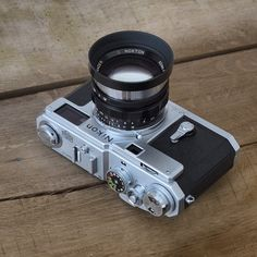 Nikon S3 Millennium and Voigtlander Nokton 'S' 50mmF1.5 #rangefinder #nokton50 #VoigtlanderNokton50mm #voigtlander #NikonS3 #NikonSfit #CameraPorn #filmcamera