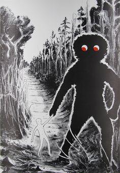 Tilo Baumgärtel - Plakat zur Museumsnacht