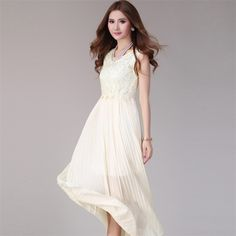 Cheap Dresses on Sale at Bargain Price, Buy Quality maxi dress, maxi dress cotton, maxi dress fashion from China maxi dress Suppliers at Aliexpress.com:1,Decoration:Lace 2,Silhouette:Pleated 3,Dresses Length:Ankle-Length 4,Model Number:987246 5,Pattern Type:Solid