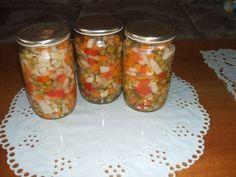 Moje domácí moravanka Preserves, Mason Jars, Canning, Red Peppers, Preserve, Preserving Food, Mason Jar, Home Canning, Butter