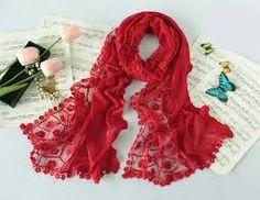Image result for red scarves