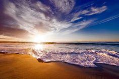Califórnia, Pôr Do Sol, Crepúsculo
