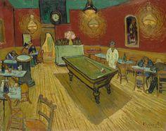 Van Gogh, The Night Café, September 1888. Oil on canvas, 72.4 x 92.1 cm. Yale University Art Gallery, New Haven.