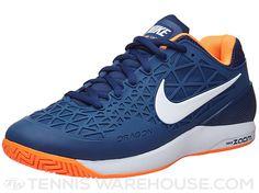 Nike Zoom Cage 2 Blue/Citrus Men's Shoe
