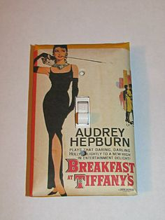 Light Switch Cover - Light Switch Breakfast at Tiffany's