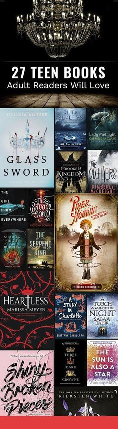 From dystopian tales to fairy tale retellings to coming-of-age novels.