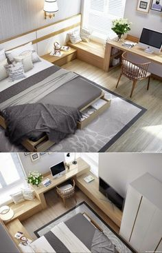 6 Cheap And Easy Useful Ideas: Minimalist Bedroom Lighting Inspiration minimalist living room ideas layout.Minimalist Home Interior Clutter minimalist bedroom beige wall art.Minimalist Home Bedroom Kids Rooms. Condo Interior Design, Modern Bedroom Design, Contemporary Bedroom, Apartment Design, Apartment Layout, Apartment Living, Small Modern Bedroom, Modern Bedrooms, Modern Design