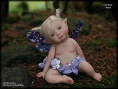 Weefairytales Fairies Fae OOAK Art Doll Baby Fairy Sculpture | eBay