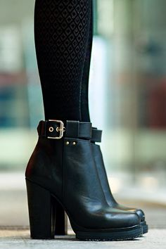 Perfect Buckle Boots