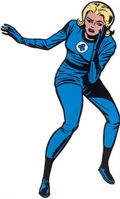 Invisible Girl - Marvel Comics - Fantastic Four - Sue Richards