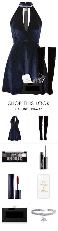 """""""Inspired Fashion Set for @lifeissweet170000"""" by kind-at-heart ❤ liked on Polyvore featuring Oh My Love, Christian Louboutin, NYX, MAC Cosmetics, Estée Lauder, Sonix, Judith Leiber and bathroom"""