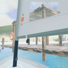 Your own safe #harbour in #virtualreality #sailing #sailboat #htcvive