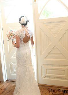 Bride at Tybee Island Wedding Chapel | Tybee Island, GA |  @Tybee Wedding #tybeeweddings