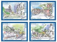 StampedeBeta - Stamp Profile - Streets of Macao II new stamps series | Stampnews.com