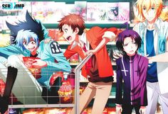 El Manga de Servamp tendrá un nuevo proyecto de Anime.