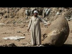 GIANT STATUE WITH ELONGATED SKULL FOUND IN EGYPT - YouTube