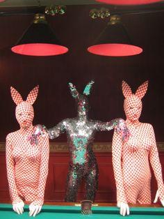 US Moral Decay & Destructive Illuminati Sex Culture Push by media - Warning Signs of Collapse - Bunny-Play! Bizarre, Club Kids, Retro, Kitsch, Art Inspo, Art Reference, Creepy, Creations, Artsy