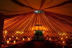 Wedding Yurt, wedding marquee, wedding tent / for hire Marquee Wedding, Wedding Venues, Yurt Home, Garden Marquee, High Walls, Festival Wedding, Private Garden, Maine House, Hedges