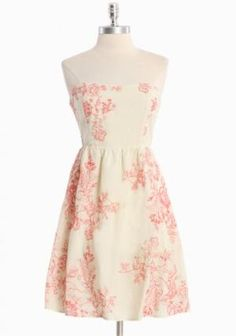 Sweet Romance Embroidered Dress | Modern Vintage Dresses - Pretty