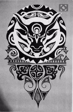 Top 45 bull tattoos designs and ideas for men and women - maori tattoos Irezumi Tattoos, Maori Tattoos, Tatuajes Irezumi, Maori Tattoo Meanings, Filipino Tattoos, Marquesan Tattoos, Tattoos With Meaning, Hand Tattoos, Sleeve Tattoos
