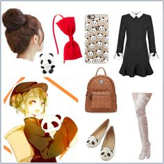Nyo! China -Hetalia Inspired Look by brighteyes1708 on Polyvore