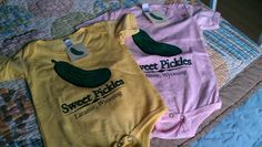 Sweet Pickles tees for the little one!