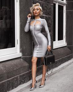 Shades of slay Dress from @hotmiamistyles