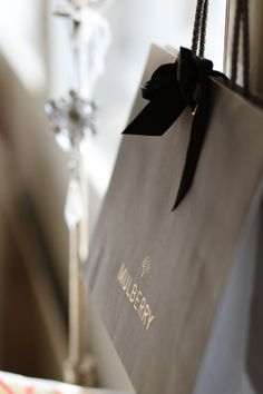 Paper bag #mulberry  http://skiglari-norppa.blogspot.com