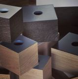 Medium Box - Oak/Black - the oak men