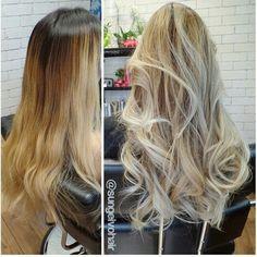 Olaplex balayage blonde asian @sungeivohair follow on Instagram