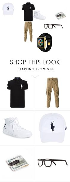 """Boy outfit"" by jtbae ❤ liked on Polyvore featuring Polo Ralph Lauren, Dsquared2, NIKE, River Island, men's fashion and menswear"