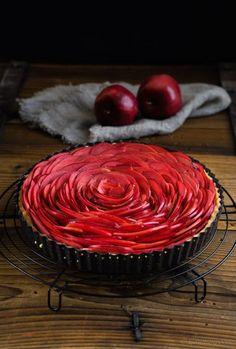 apple tarte   Apfel-Tarte