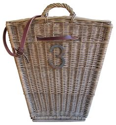 One Kings Lane - Inside or Out - French Harvest      Basket