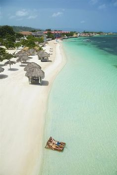 Now the kids are a little older, the hubs and I can finally get our honeymoon:leaning towards Montego Bay, Jamaica