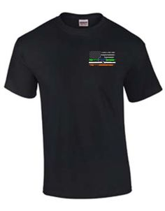 The Irish culture is deeply rooted in law enforcement in the United States. What better way to show your Irish pride and support for the Thin Blue Line than with our shirt?