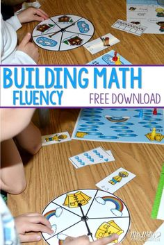 Math Fluency Games f