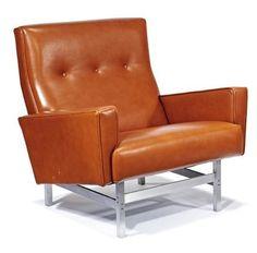 George Kasparian; Lounge Chair, c1960.