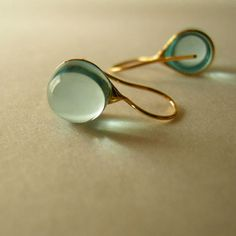 Teardrop earring by knap, Japan