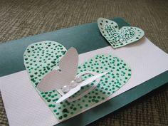 Kartka z motylkami